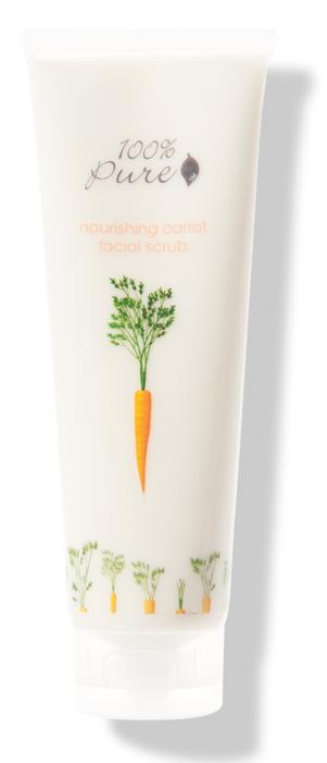 100% Pure Facial Scrub Carrot