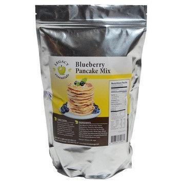 Legacy Premium Food Storage Legacy Blueberry Pancake Mix - Prepper Disaster Survival Food Supply