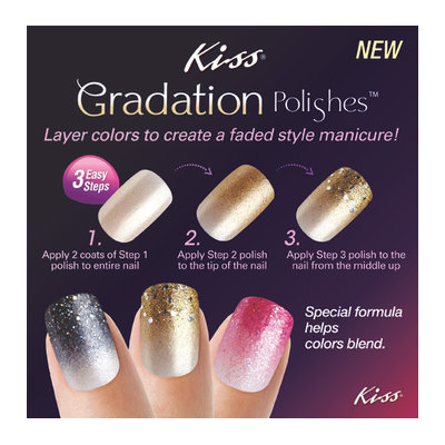 Kiss® Gradation Polishes