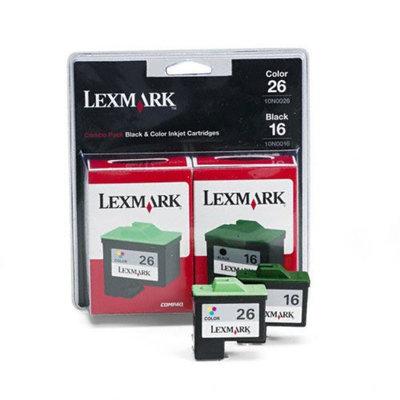 Lexmark Inkjet Printer Cartridges 10N0202 Twin-Pack - Print Cartridge