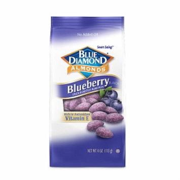 Blue Diamond Almonds, Blueberry, 4 oz