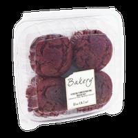 Bakery Red Velvet Muffins - 4 CT