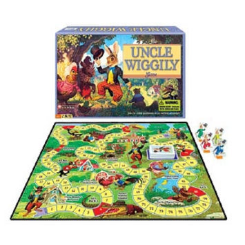 Uncle Wiggily Game Ages 4-8, 1 ea
