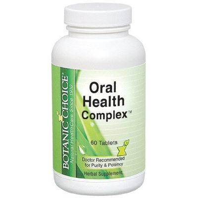 Botanic Choice Oral Health Complex Capsules, 60 Count
