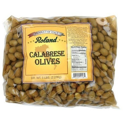 Roland Calabrese Olives, 5-Pounds Bag