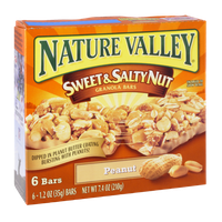 Nature Valley Sweet & Salty Nut Granola Bars Peanut
