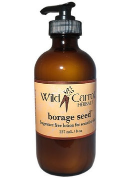 Borage Lotion for Sensitive Skin Wild Carrot Herbals 8 oz Lotion