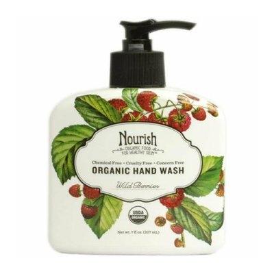 Nourish Organic Hand Wash Wild Berries 7 fl oz
