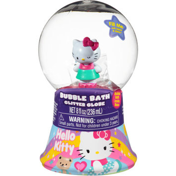 Hello Kitty Bubble Bath Glitter Globe, 8 fl oz