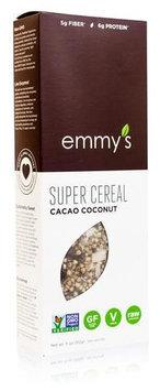 Emmy's Organics Super Cereal Cacao Coconut 11 oz - Vegan
