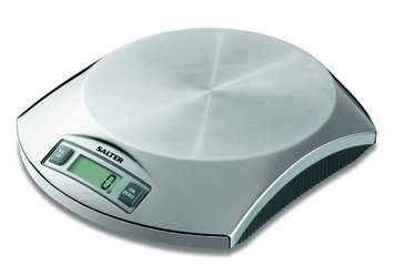 Salter Compact Stainless Steel Electronic Kitchen Scale