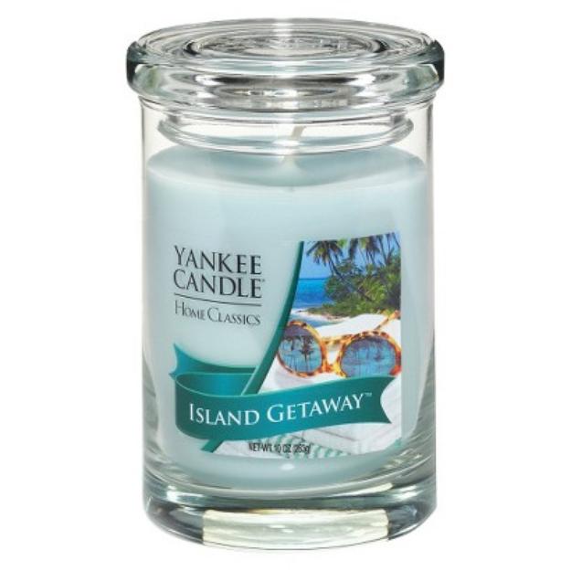 Yankee Candle Company Blue Tumbler Isld Getaway - Regular