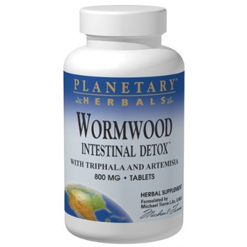 Planetary Herbals Wormwood Intestinal Detox 800mg 120 Tablets