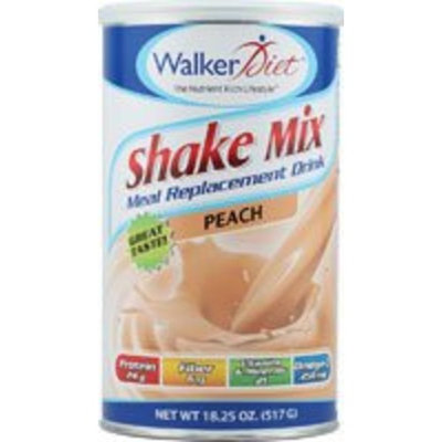 Walker Diet Meal Replacement Drink Peach -- 18.25 oz