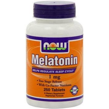 Now Foods Melatonin 1mg, 250 Tablets