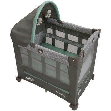 Graco Travel Lite Portable Crib with Stages, Manor