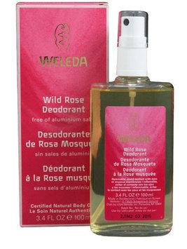 Weleda - Deodorant Spray Wild Rose Scent - 3.4 oz.