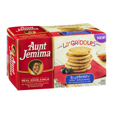 Aunt Jemima Lil' Griddles Blueberry Mini Pancakes