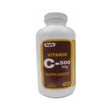 Rugby Laboratories Vitamin C TABS 500MG ***RUG Size: 1000