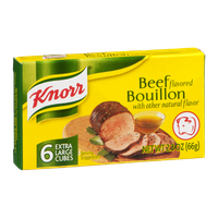 Knorr Bouillon Cubes Beef 6 ct