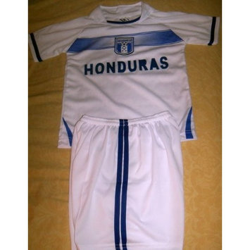 walas KIDS HONDURAS SOCCER SET SIZE 14 (FOR AGES 11,12, & 13) jersey and shorts