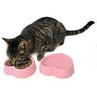 Petmate Melamine Bowl Pink Heart 11 ounces
