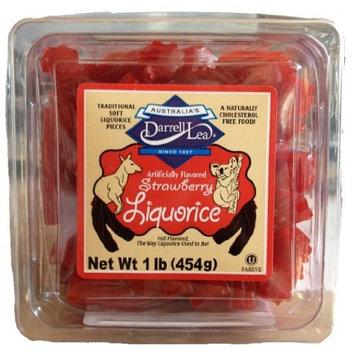 Australia's Darrell Lea Strawberry Liquorice - 1 Lb
