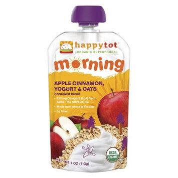 Happy Tot HappyTot Morning Apple, Cinnamon, Yogurt & Oats 4.22 oz Usda Organic