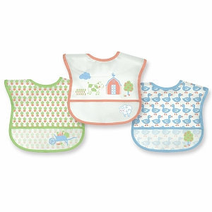 green sprouts Waterproof Bibs