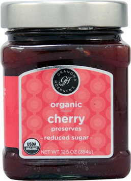 Grandma Hoerners Grandma Hoerner's Organic Preserves Reduced Sugar Cherry 12.5 oz