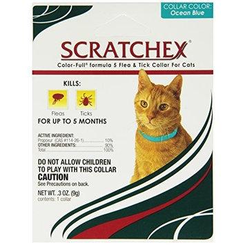 Scratchex Color-Full Formula 5 Flea & Tick Collars Cat, 1 count