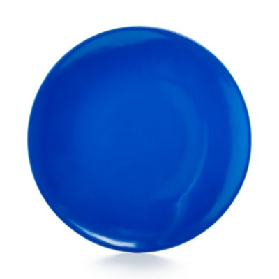 Martha Stewart Collection Blue Melamine Salad Plate