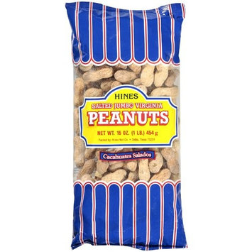 Hines Salted Roasted Jumbo Virginia Peanuts, 16 oz