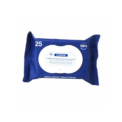 Klorane Soothing Make-Up Remover Wipes with Cornflower Water