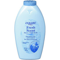 Equate Fresh Scent Shower & Bath Powder