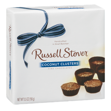 Russell Stover Fine Chocolates Coconut Clusters