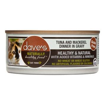 Dave's Pet Food Dave's Cat Food Grain-Free Tuna & Mackerel Dinner