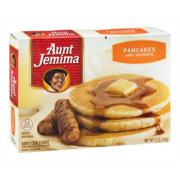 Aunt Jemima Pancakes & Sausage