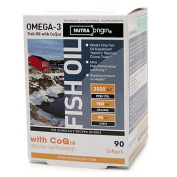 NutraOrigin Omega-3 Fish Oil with CoQ-10