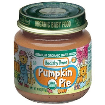 Healthy Times Organic Baby Food, Pumpkin Pie, 4-Ounce Jars (Pack of 12)
