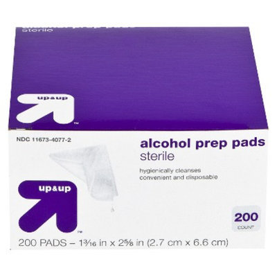 up & up up&up Sterile Alcohol Prep Pads - 200 Count