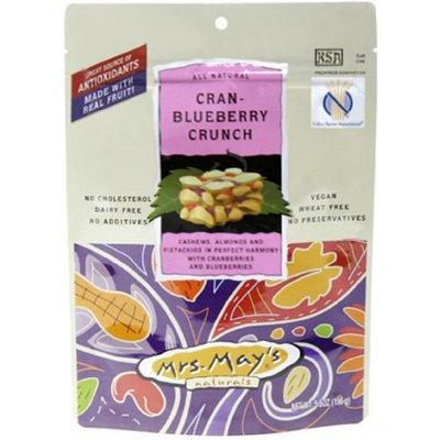 Mrs Mays Mrs. Mays Cran-Blueberry Crunch, 2-Ounce Bags (Pack of 24)