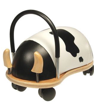 Prince Lionheart Wheely Cow Ride-On Toy - Small