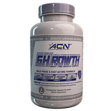 Athlete Certified Nutrition GHrowth - 75 Vegetarian Capsules