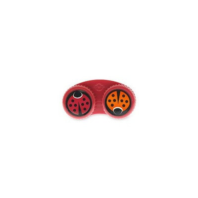 ikeeps Custom Contact Lens Case, Ladybugs 1ea