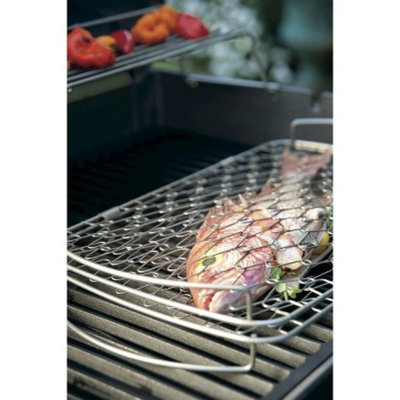Weber Stainless Steel Fish Basket - Small