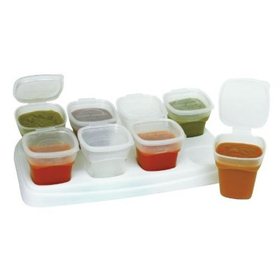 Petite Creations 2oz. Baby Cube Containers, 8 pack (PVC & Lead Free)