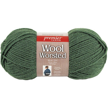 Shreeram Overseas Premier Yarns Wool Worsted Yarn Kelly Green