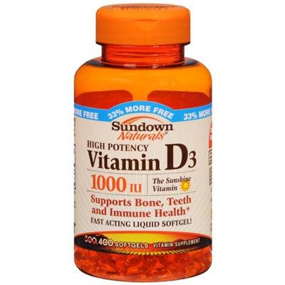 Sundown Naturals Vitamin D3 1000 IU