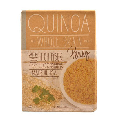 Pereg - 100 Natural Quinoa Whole Grain - 6 oz.